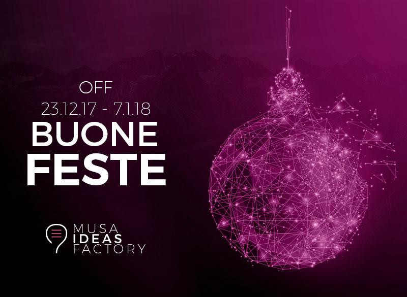 OFF 23.12.17 - 7.1.18 Buone Feste